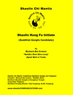 book cover of Shaolin Kung Fu Initiate